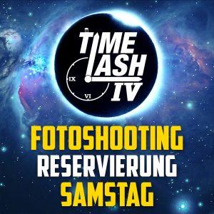 Reservierung fürs Fotoshooting am Samstag