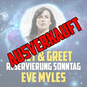 Eve Myles Meet and Greet Sold out